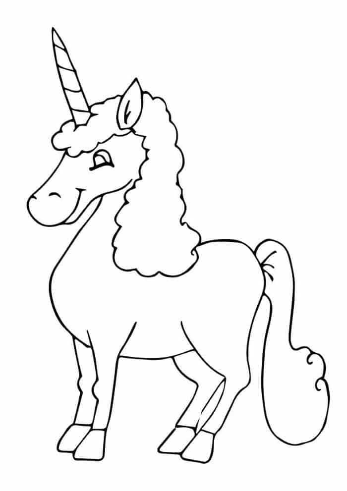 The Re'em Unicorn Coloring Pages